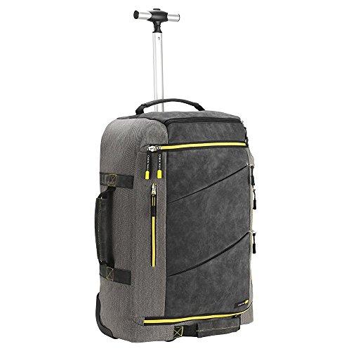 Cabin Max Manhatten Premium Hybrid Rollkoffer mit...