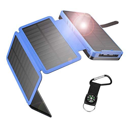 IEsafy Solar Powerbank 26800mAh Solar Ladegerät...