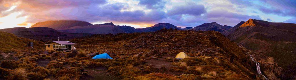 Zelt in Landschaft