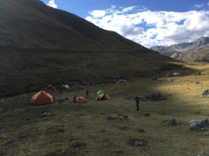Ultraleicht Zelt 2 Personen in der Natur