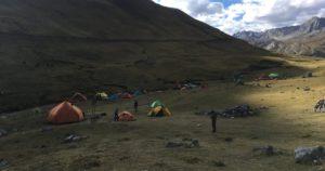 Ultraleicht Zelte in der Natur