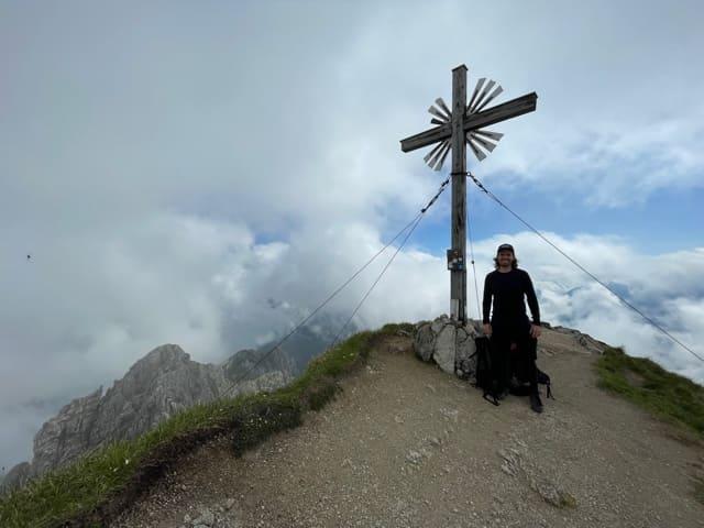 Gipfel Große Klammspitze
