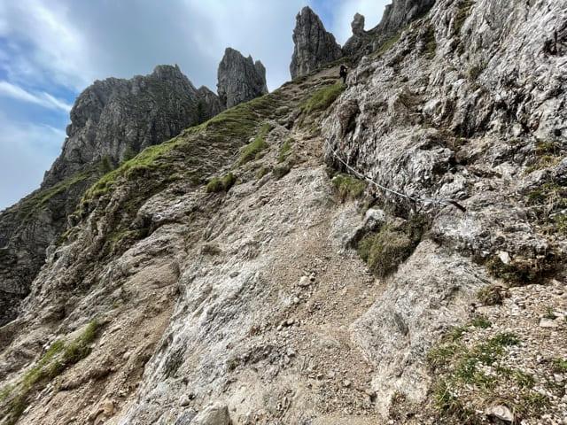 Klettersteig Große Klammspitze