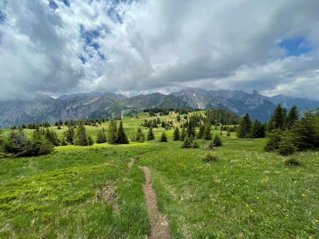 Weg zur Kenzenhütte